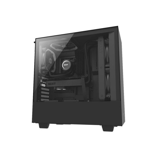 NZXT H series H500 Sort - miditower - ATX