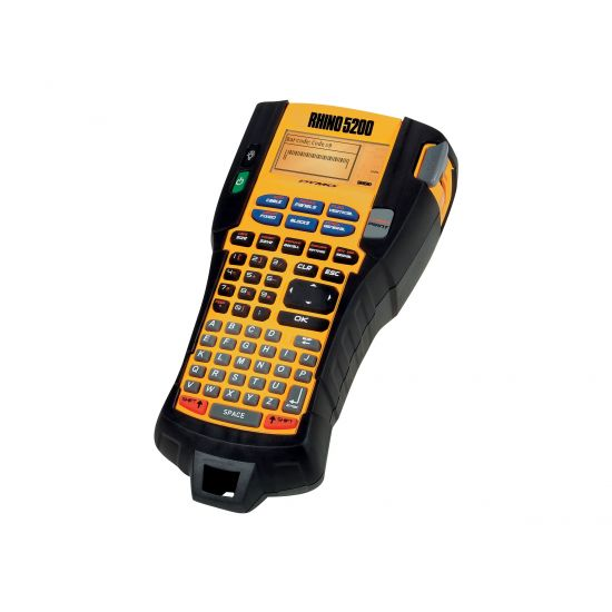 DYMO Rhino 5200 Hard Case Kit - etikettemaskine - monokrom - termo transfer