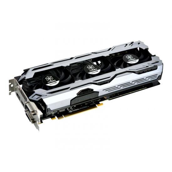 Inno3D iChiLL GeForce GTX 1070 Ti X3 V2 &#45 NVIDIA GTX1070Ti &#45 8GB GDDR5 - PCI Express 3.0 x16