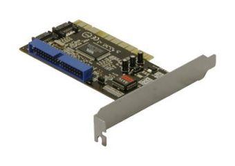 DeLOCK Controller card 2x SATA, 1x IDE