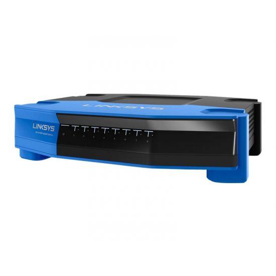 Linksys WRT SE4008 - switch - 8 porte - ikke administreret