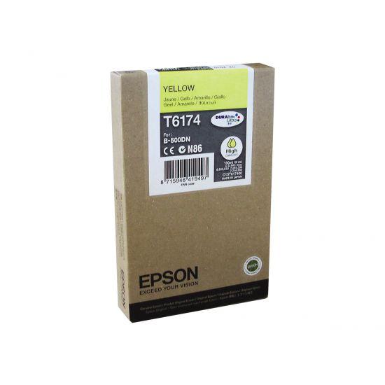 Epson T6174 - høj kapacitet - gul - original - blækpatron