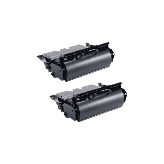 Dell High Capacity 'Use and Return' Toner - høj kapacitet - sort - original - tonerpatron