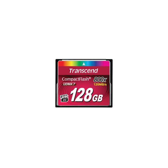 Transcend - flashhukommelseskort - 128 GB - CompactFlash