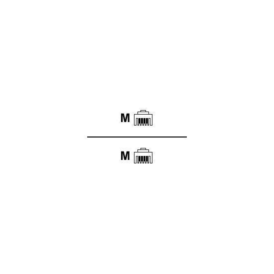 DELTACO telefonkabel - 3 m