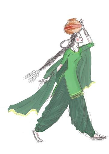 Sohni - Character Design (Clothes)