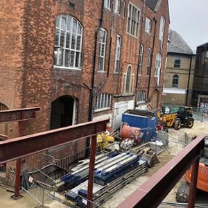 The Amelia Construction Site