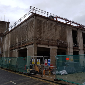 The Amelia Construction Site