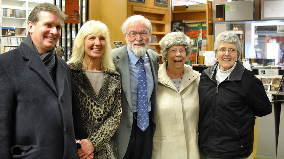 Murray McLachlan, Kathryn Page, Marcus Blunt, Maureen Blunt and Lesley Wilson