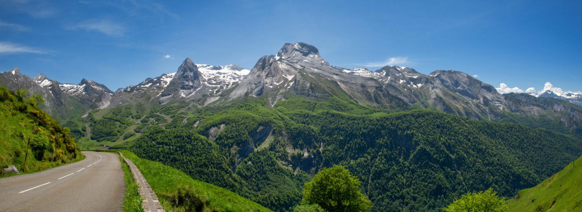 Pyrenees Mountains Motorcycle Tour
