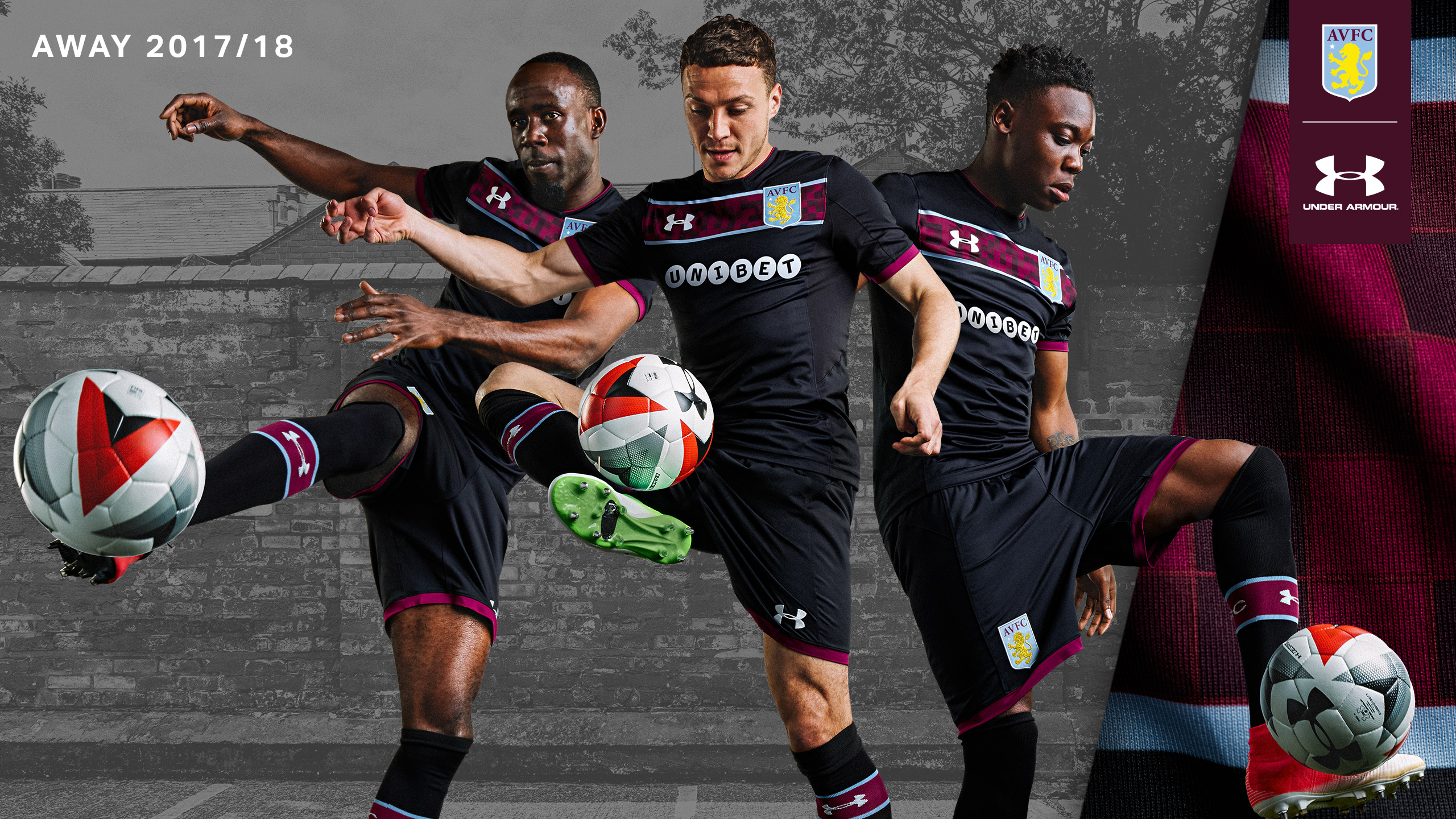 New 2017 18 Kits Revealed Aston Villa Football Club Avfc