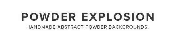 Powder Explosion Backgrounds - 1