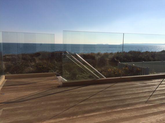 Toughened Balustrade Glass