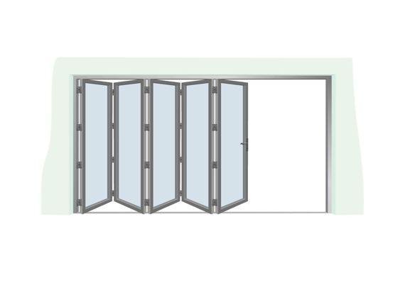 Uniquely Heated Bi-fold Doors