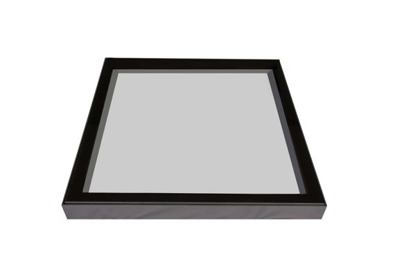 1m x 1m Flat Fixed Thermal Rooflight or Skylight
