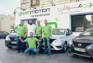 Green Motion Car Rental Additional fleet for Jordan 326x220