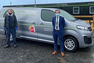 Green Motion Car Rental Charity Edinburgh Van Donation 2020 326x220