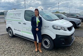 Green Motion Car Rental Charity Leicester Van Donation 2020 326x220