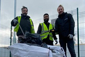 Green Motion Car Rental Charity Manchester Litter Picking 2020 326x220