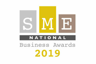 Green Motion Car Rental SME National Business Awards 2019 Logo 326x220
