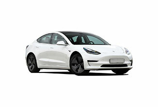 Green Motion Car Rental Tesla Model 3 326x220
