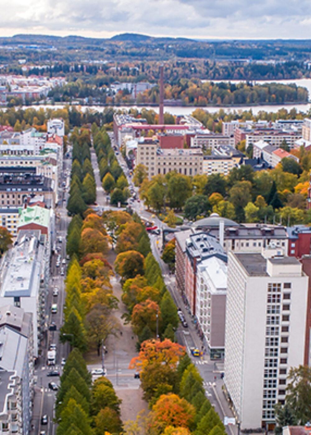 Green Motion Car Rental Finland Tampere Railway Station 1440x400