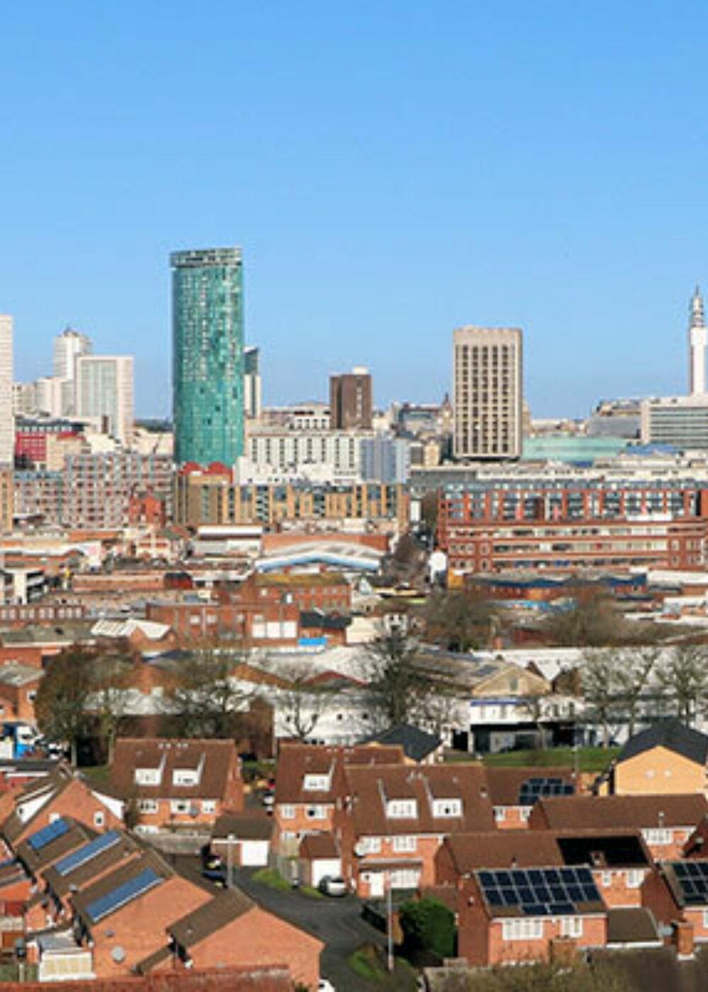 Green Motion Car Rental United Kingdom England Birmingham Downtown 1400x400
