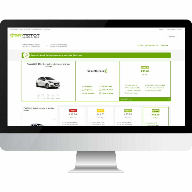Green Motion Car Rental Contactless Website Booking 767x767