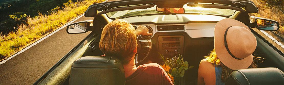 Green Motion Car Rental Couple Car Road 1110x335