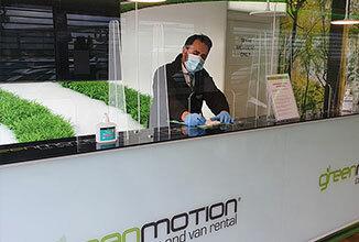 IT Green Motion Car Rental COVID 19 safety location 326x220