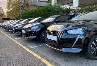 IT Green Motion Car Rental Line of cars 326x220