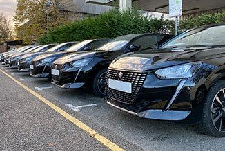 Green Motion Car Rental Line of cars 326x220
