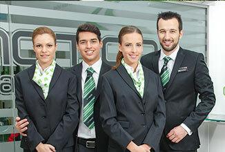 Green Motion Car Rental staff team 326x220