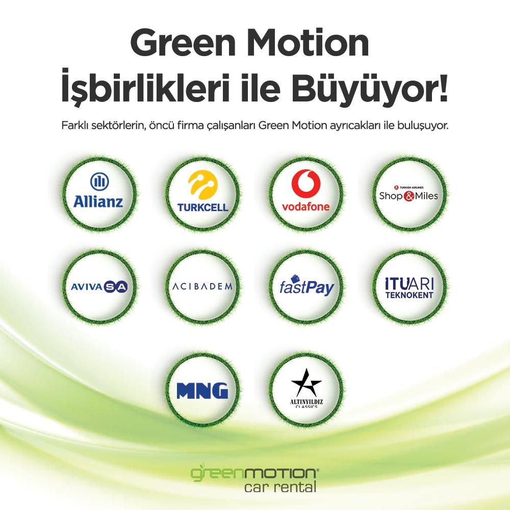 Green Motion İsbirlikleri SM Feed
