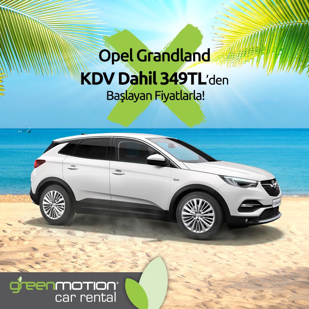 Green Motion Opel Grandland X Feed 349 TL 3