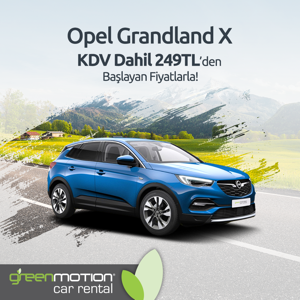 Green Motion Opel Grandland X Feed
