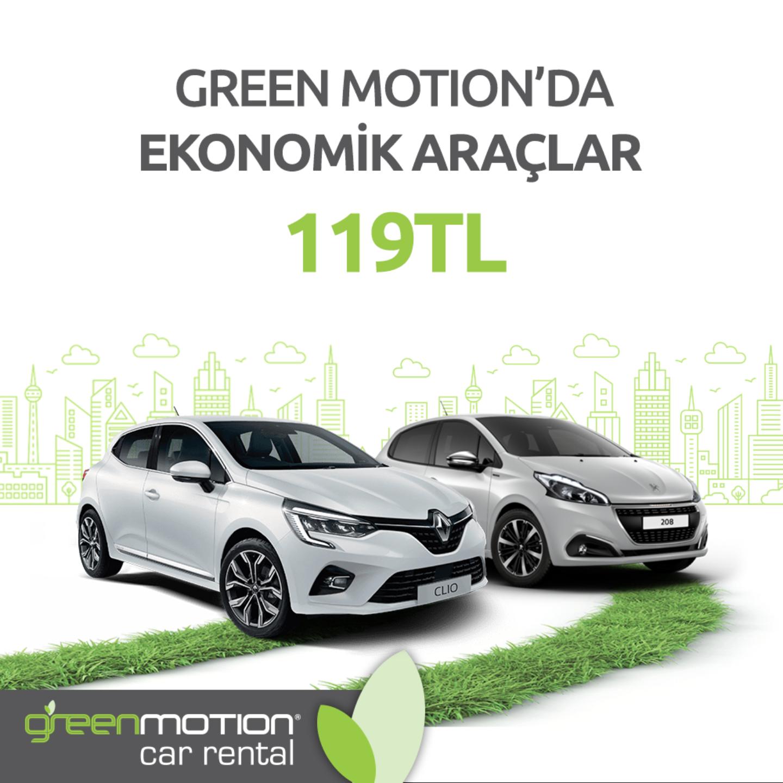 GM Ekonomik Araçlar 119 TL