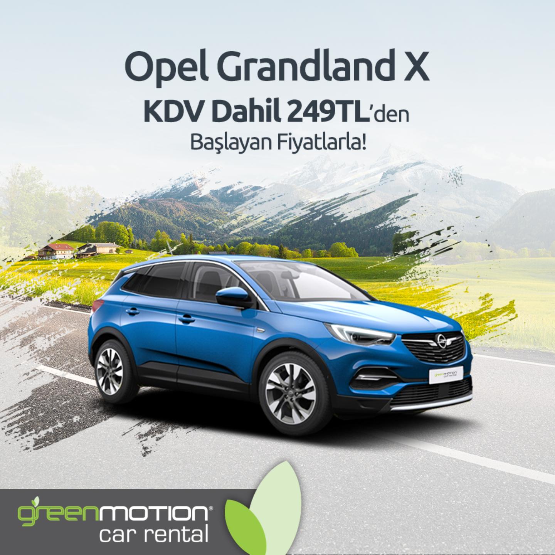 Green Motion Opel Grandland X Feed