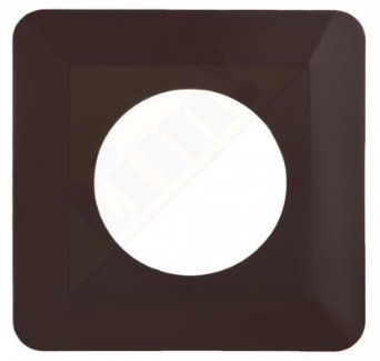 Light Switch Socket Finger Cover Plates Surround Edge  Brown Colour