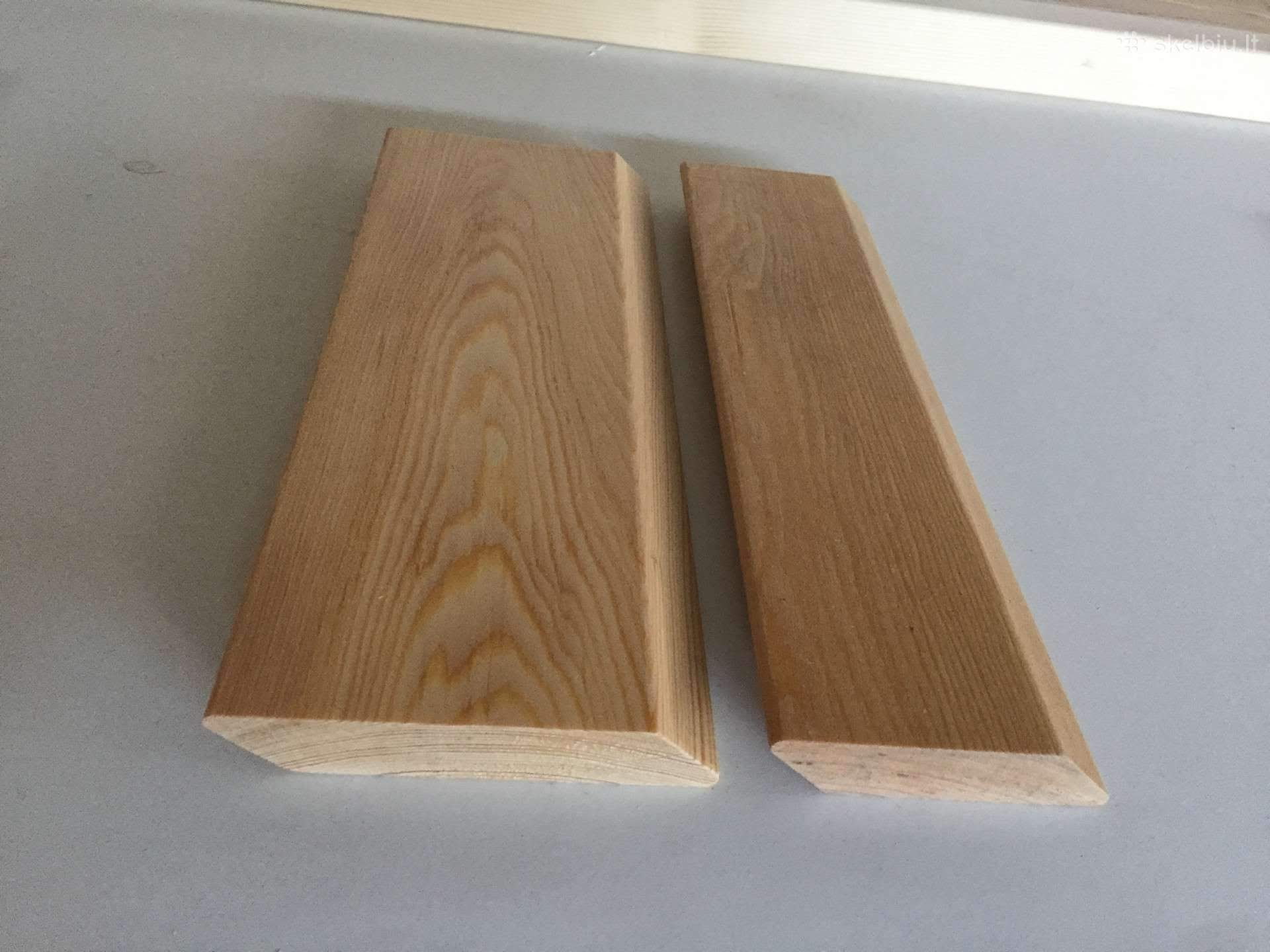 A Grade Siberian Larch Rounded Edge Rainscreen Cladding 22m Thick