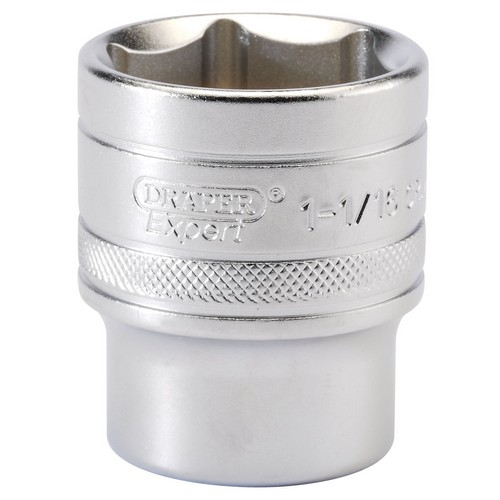Draper 16635 1/2inch Square Drive 6 Point Imperial Socket (1.1/16inch)