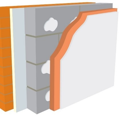 Warmline PHE Insulated Plasterboard 2400mm x 1200mm x 62.5mm SE - Pallet of 16 (46.08m2)