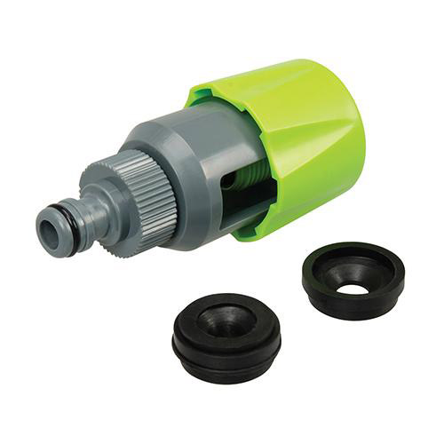 Silverline 710670 Universal Mixer Tap Connector Tap Head 34mm - 43mm
