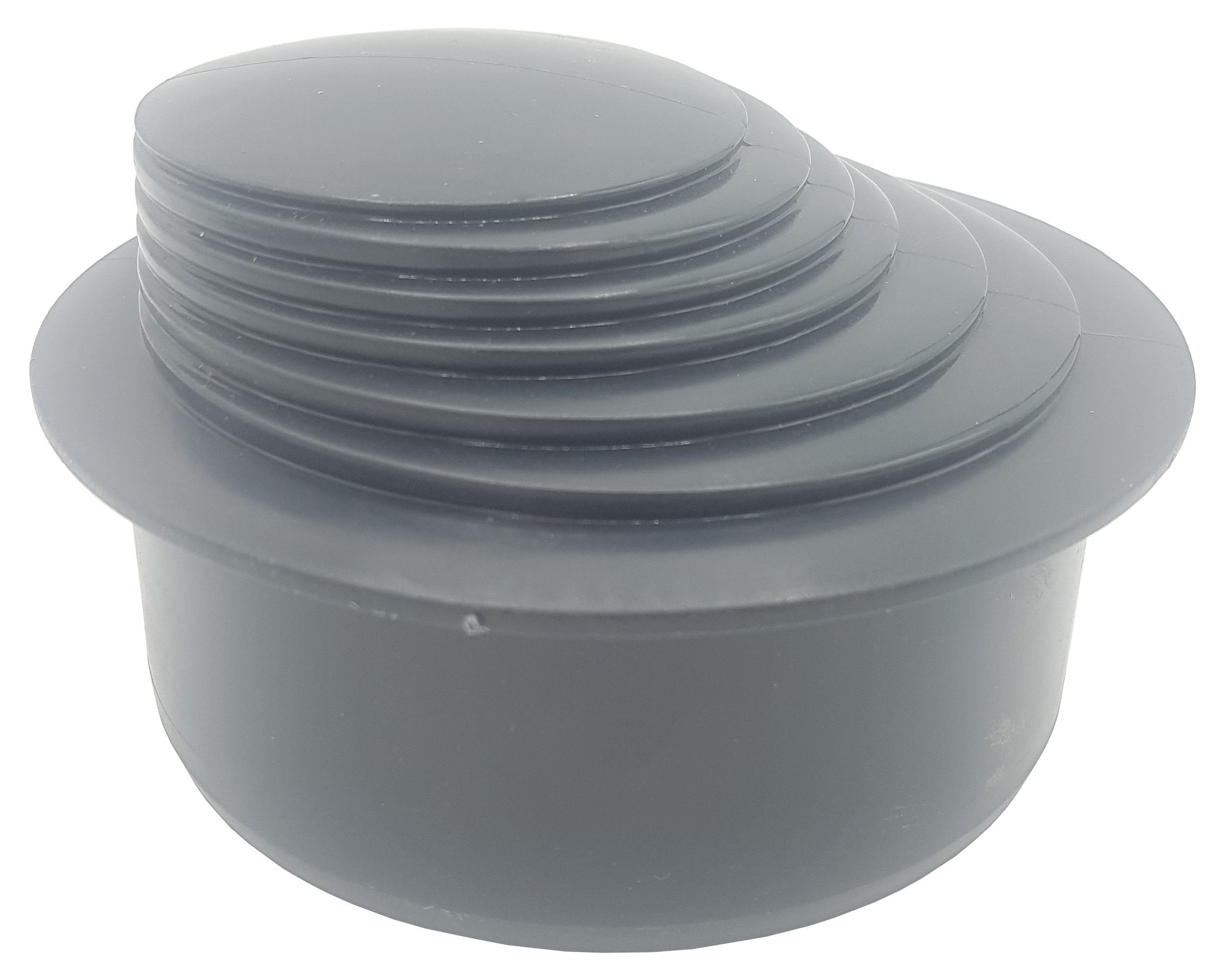 Dark Green Colour Gutter Down Pipe Reducer 110mm to Any Size Reduction Guttering