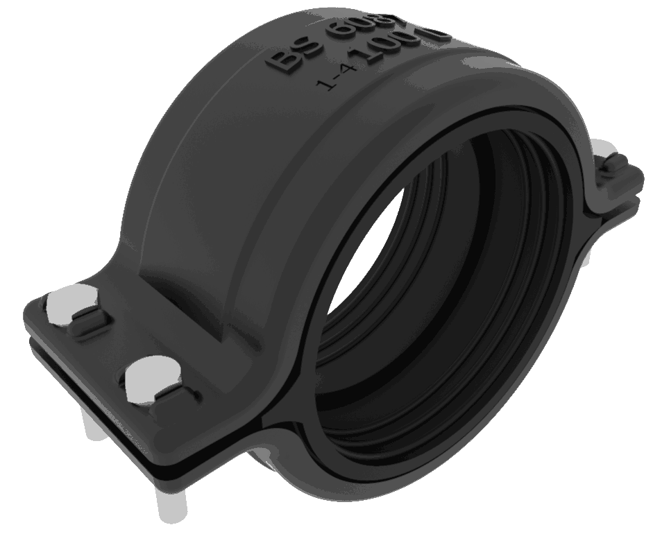 TimeSaver TD02 Transitional Ductile iron coupling 100mm
