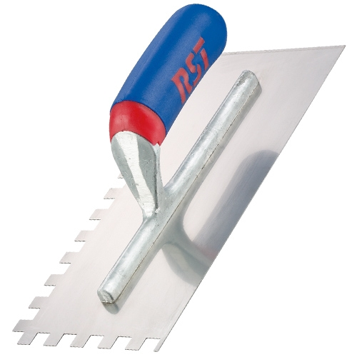 RST RTR6260S Notched Trowel 11inch X 4.1/2inch 10mm Soft Grip