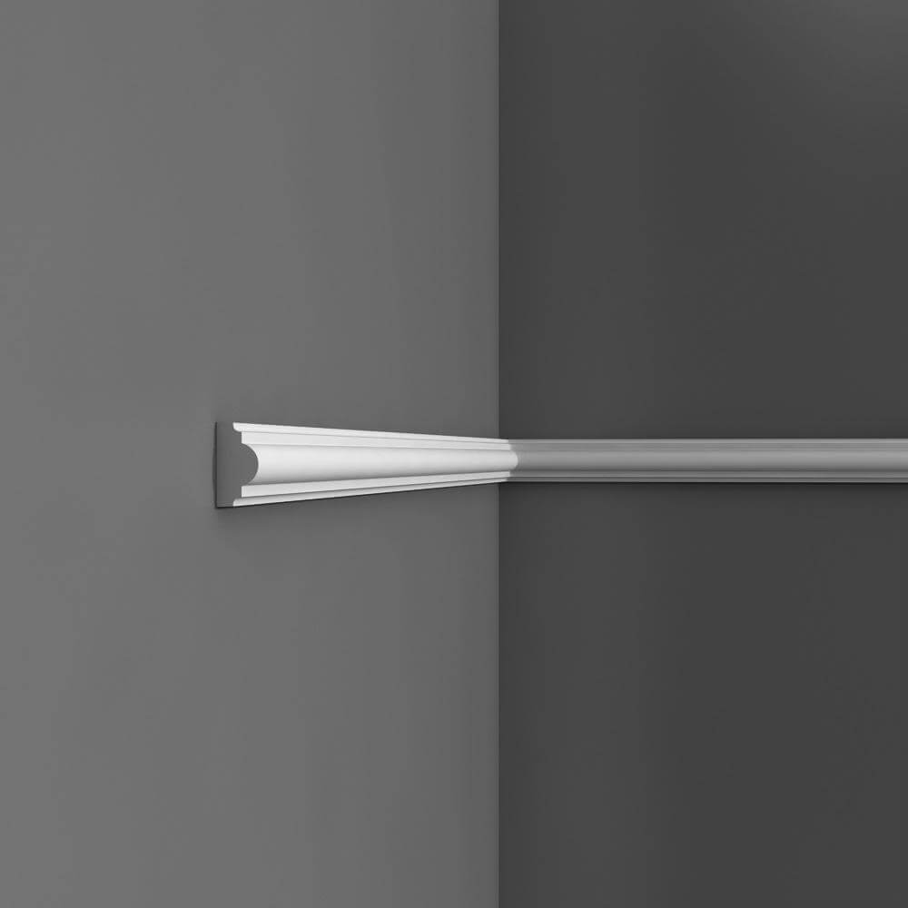 Panel Moulding Axxent Collection - 2000mm x 40mm x 20mm White