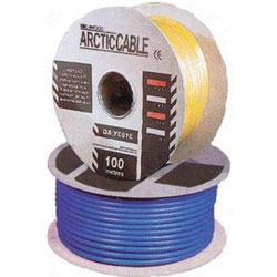 Defender H05 VV-F Low Temp 110v Yellow Arctic Cable 100mtr Drum