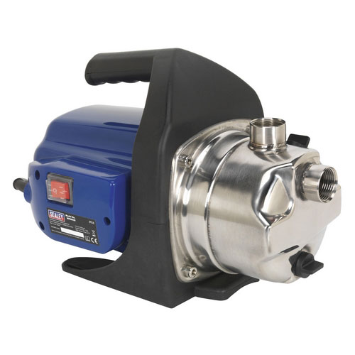 Sealey WPS062S Surface Mounting Water Pump Stainless Steel 62ltr/min 230V