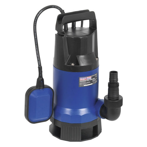 Sealey WPD235A 217ltr/min Automatic Submersible Dirty Water Pump 230V